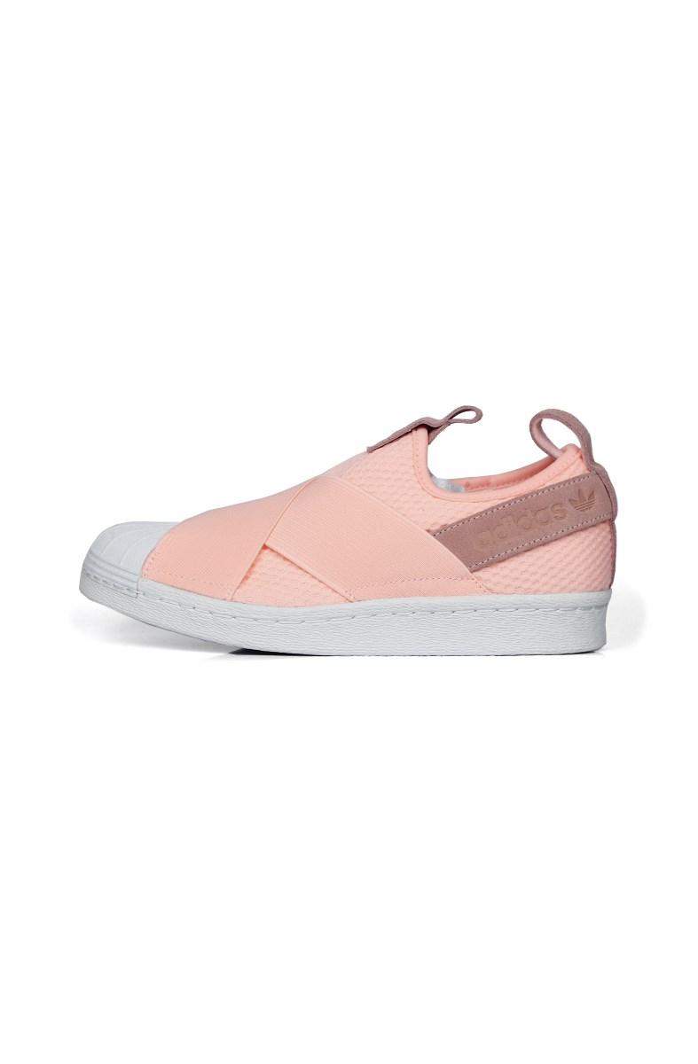 adidas slip on superstar rosa