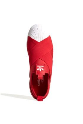 Tênis Adidas Superstar Slip On Vermelho/Branco