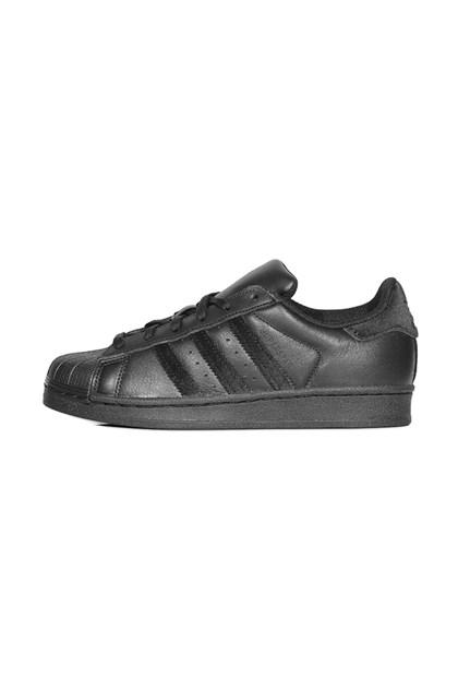 696aab51ee Tênis Adidas Superstar Foundation Preto Preto - NewSkull