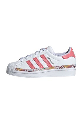 Tenis Adidas Superstar x Her Studio London Feminino Branco/Rosa