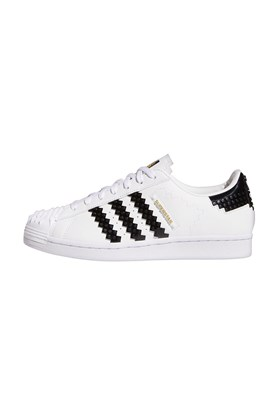 Tenis Adidas Superstar x LEGO Branco/Preto