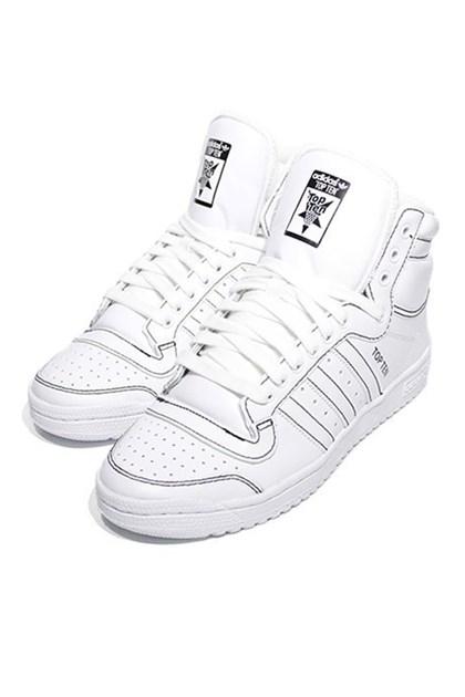 15e3a1b1b5 Tênis Adidas Top Ten Hi Branco - NewSkull