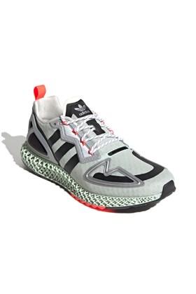 Tenis Adidas Zx 2K 4D Cinza/Verde