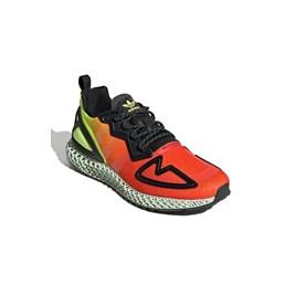 Tenis Adidas Zx 2K 4D Vermelho/Amarelo