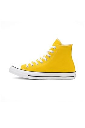 Tenis Converse Chuck Taylor All Star High Amarelo/Branco