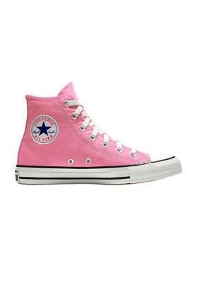 Tenis Converse Chuck Taylor All Star High Rosa/Branco