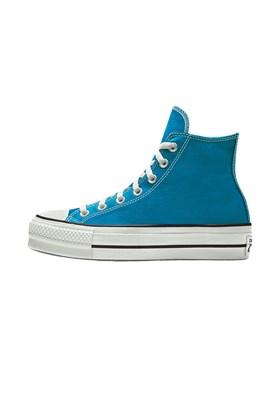 Tenis CONVERSE Chuck Taylor ALL STAR Lift Plataforma High Azul/Acido Azul/Acido 33