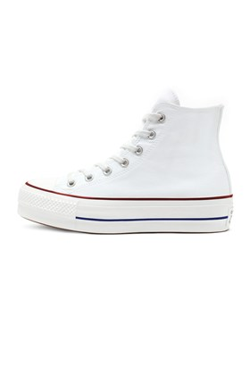Tenis CONVERSE Chuck Taylor ALL STAR Lift Plataforma High Branco/Branco