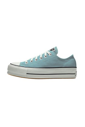 Tenis CONVERSE Chuck Taylor ALL STAR Lift Plataforma Low Azul/Bebe