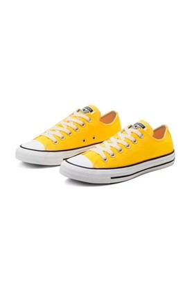 Tenis Converse Chuck Taylor All Star Low Amarelo/Branco