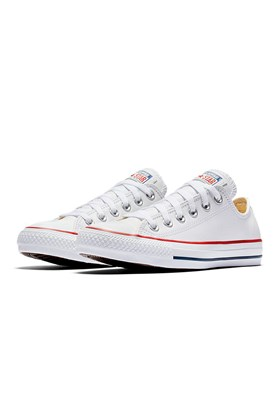 Tenis CONVERSE Chuck Taylor ALL STAR Low Couro Branco