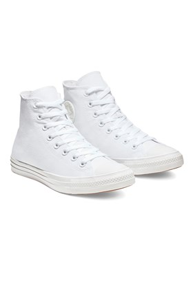 Tenis CONVERSE Chuck Taylor ALL STAR Monochrome High Branco/Branco
