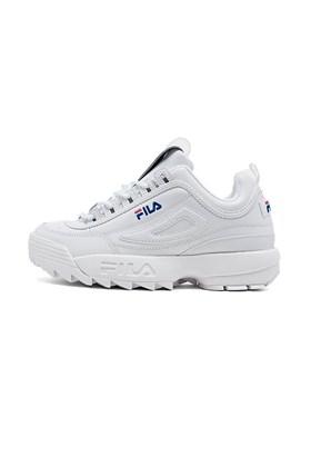 Tenis Fila Disruptor 2 Premium Feminino Branco/Azul Branco/Azul 40