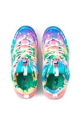 Tenis Fila Disruptor 2 Premium Feminino Tie Dye Colorido