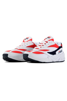 Tenis FILA Venom V94M Branco/Vermelho