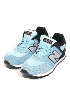 48616c78a9 Tênis New Balance 574 Azul Feminino ...