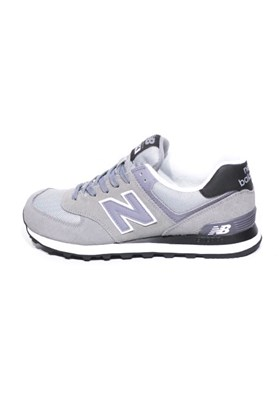 2ef7f75f79 ... Tênis New Balance 574 Cinza Gray Steel Black