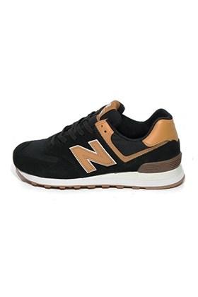 d744560067 ... Tênis New Balance 574 Preto com Marrom
