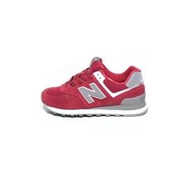 e2938bf1b3 Tênis New Balance 574 Vermelho Feminino - NewSkull