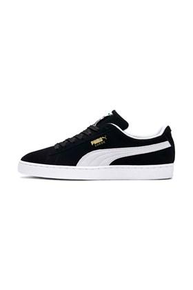 Tênis Puma Suede Classic Preto/Branco