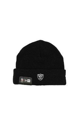 Touca Gorro NEW ERA Heritage Oakland Raiders Preta