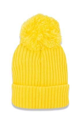 Touca Gorro New Era Juvenil Flag  Amarelo