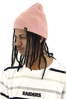 Touca Gorro NewSkull Double Face Rosa