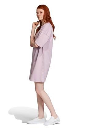 Vestido ADIDAS Trefoil Feminino Roxo