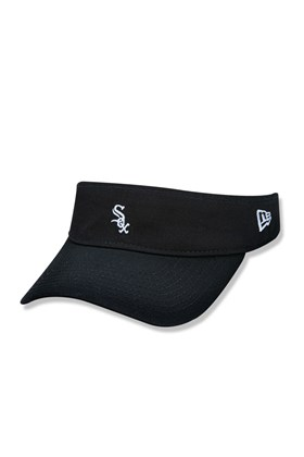 Viseira New Era Chicago White Sox Sun Team Mini Logo Preta/Branca